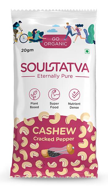 Buy online organic Cashew Cracked pepper