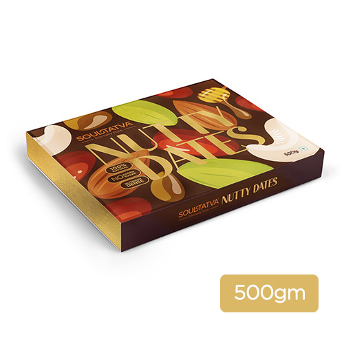Nutty dates (Pack of 24 pieces)