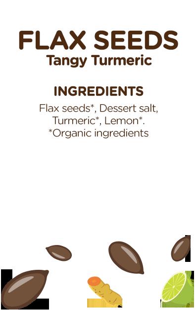 Flax Seeds Tangy Turmeric