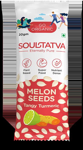 Melon Seeds Tangy Turmeric