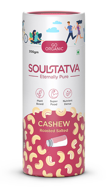 Buy online organic Cashew Roasted Salted
