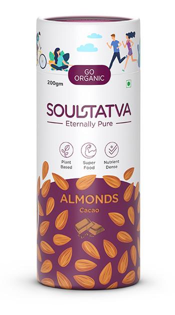 Buy online organic Almonds Cracked Pepper