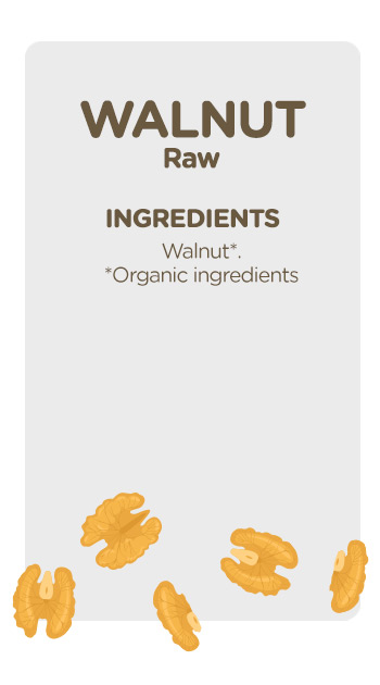 Buy online organic Walnut Kernels