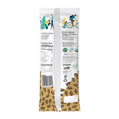 Flax Seeds Tangy Turmeric Combo