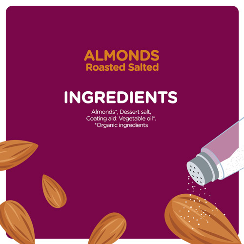 Almonds Roasted Salted Combo