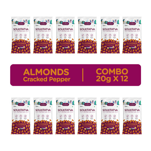 Almonds Cracked Pepper Combo