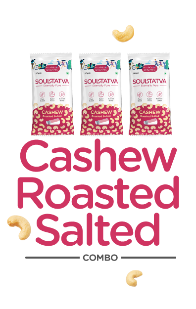 Cashew Nuts Roasted Salted Combo