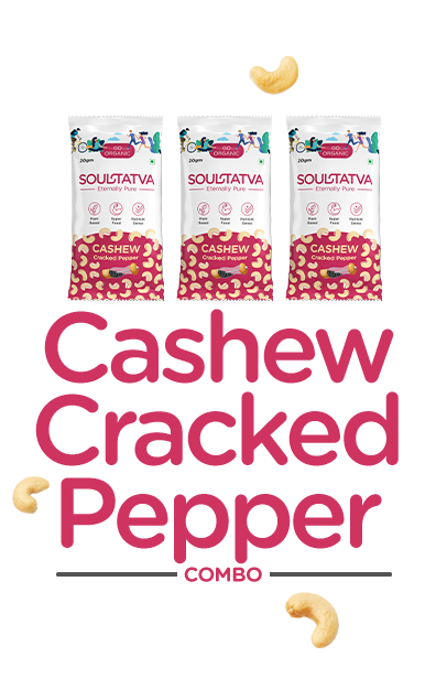Cashew Nuts Cracked Pepper Combo