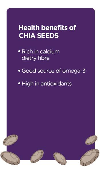Buy online organic Raw Chia Seeds