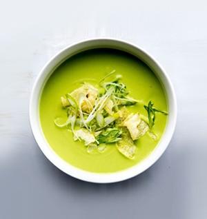 Cream of Cashew Pea Soup