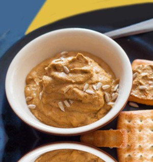 Tomato and Sunflower Seed Dip Recipe